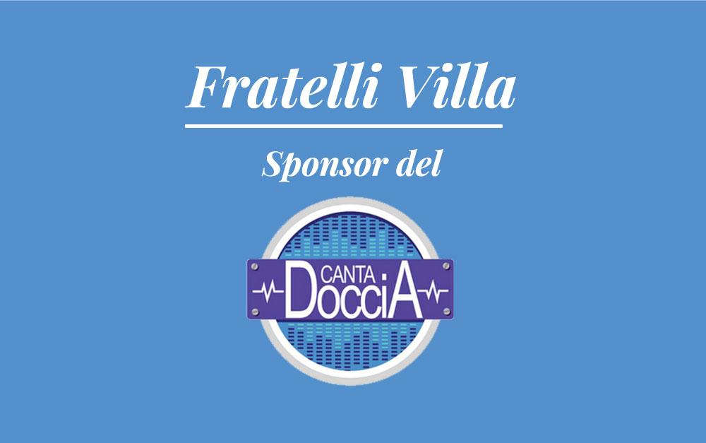 "Fratelli Villa Sponsor di ""Cantadoccia""!"