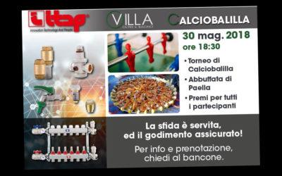 Paellata & Calciobalilla