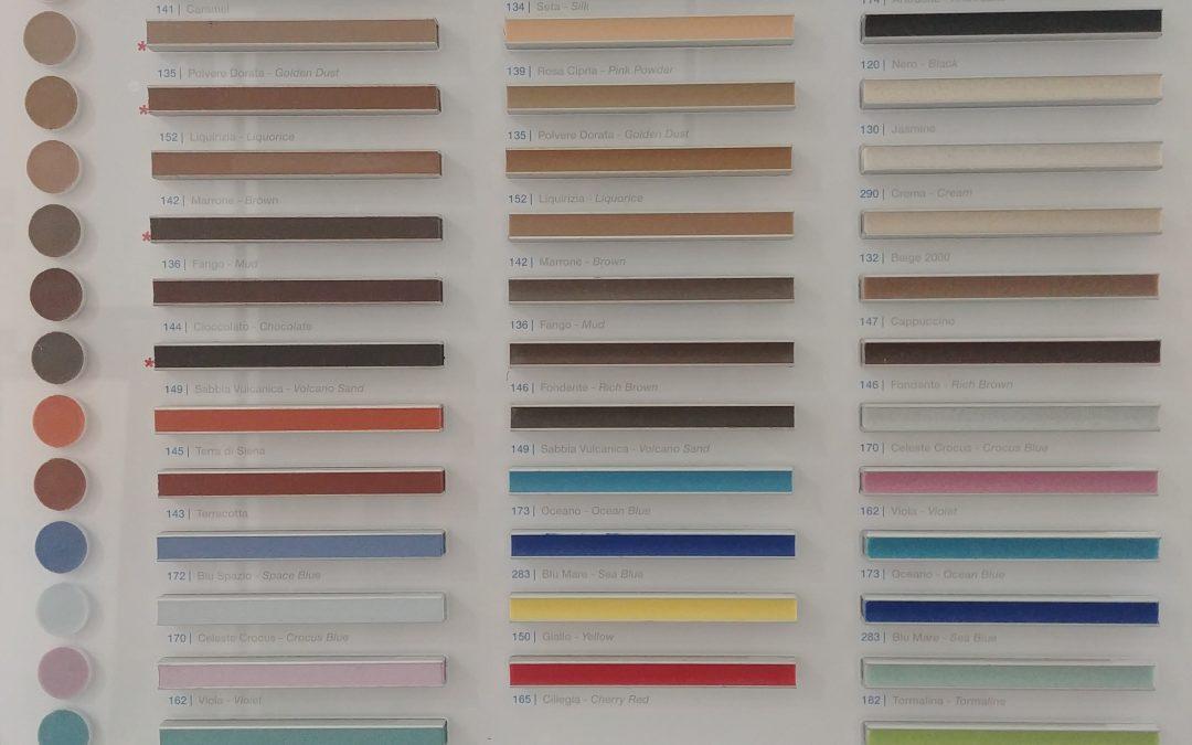 Fughe colorate